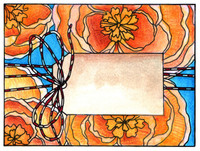 Art Gone Wild Cling Mount Stamp Set by Catherine Scanlon - Tied Up Pretty