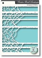 Memory Box Stencils - Birch Landscape