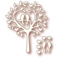 Wild Rose Studio Dies - Love Bird Tree