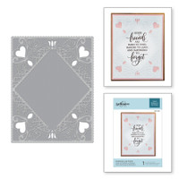 Spellbinders Cut and Emboss Folder - Diamond Lace Frame