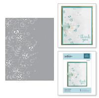 Spellbinders Cut and Emboss Folder - Flower Garden
