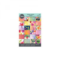 "Sizzix Paper by Lindsey Serata - 4"" x 6"" Cardstock Pad, Springtime, 36 Sheets"