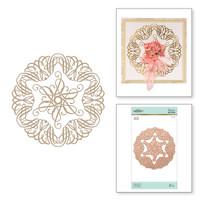 Spellbinders Glimmer Hot Foil Plates by Becca Feeken_ - Elegant Circle