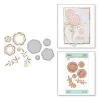 Spellbinders Glimmer Hot Foil Plates by Becca Feeken_ - Foil Flowers