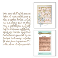 Spellbinders Glimmer Hot Foil Plates by Becca Feeken_ - Elegant Background