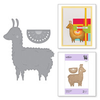 Spellbinders Exclusive Indie Collection, D-Lites Dies - Happy Llama