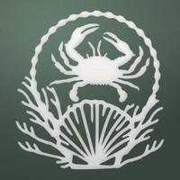Couture Creations Dies, Seaside & Me - Deep Sea Set (2pc)