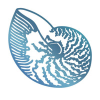 Couture Creations Hotfoil Stamp, Seaside & Me - Atlantic Shell (1pc)