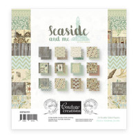 Couture Creations 6 X 6 Paper Pad - Seaside & Me