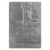 Sizzix 3-D Texture Fades Embossing Folder by Tim Holtz - Foundry