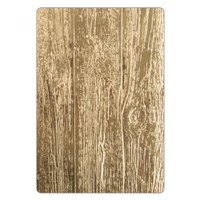 Sizzix 3-D Texture Fades Embossing Folder by Tim Holtz - Lumber