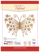 Simply Defined May 2018 Release HotFoil Stamps - Spring Butterfly