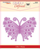 Simply Defined May 2018 Release Dies and Stamp Set - Spring Butterfly