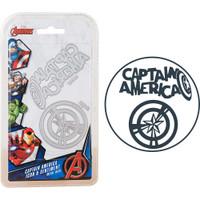 Character World Marvel, Avengers Die Set - Captain America Icon & Sentiment
