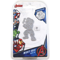 Character World Marvel, Die And Face Stamp Set - Avengers Mighty Hulk