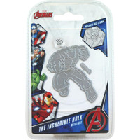 Character World Marvel, Avengers Die And Face Stamp Set - Avengers The Incredible Hulk
