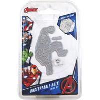 Character World Marvel, Avengers Die And Face Stamp Set - Avengers Unstoppable Hulk