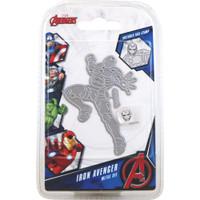 Character World Marvel, Avengers Die And Face Stamp Set - Avengers Iron Avenger