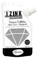 Aladine Izink Diamond Glitter Paint - Argente (Silver)