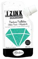 Aladine Izink Diamond Glitter Paint - Turquoise
