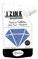 Aladine Izink Diamond Glitter Paint - Bleu (Blue)