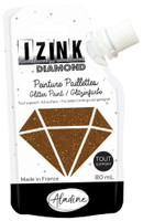 Aladine Izink Diamond Glitter Paint - Marron (Brown)