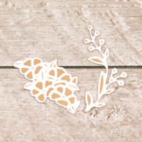 Couture Creations Dashing Ballroom Cut & Foil Die - Botanical Set