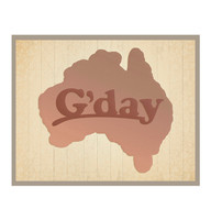 Ultimate Crafts Die - Australia Map