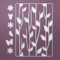 Ultimate Crafts Die - Floral Silhouettes