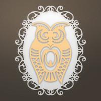Ultimate Crafts Die - Framed Owl Set