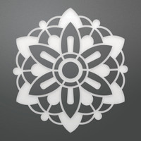 Ultimate Crafts Die - Geo Flower Decorative (1pc)