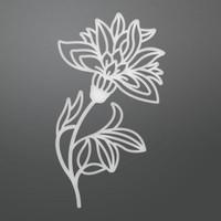 Ultimate Crafts Die - Blooming Flower Decorative (1pc)