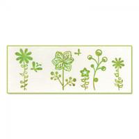 Sizzix Ink-its Letterpress Plate - Butterflies & Flowers