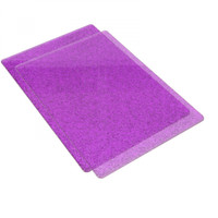 Sizzix Accessory,  Standard Cutting Pads  2/pack - Purple with Silver Glitter