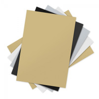 "Sizzix Inksheets - 4"" x 6"" Transfer Film, 5 Assorted Sheets"