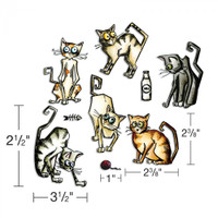 Sizzix Framelits Die Set 22PK - Crazy Cats
