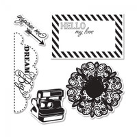 Sizzix Framelits Die Set 5PK w/Stamps - Everyday Eclectic #2