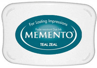 Memento Full Size Ink Pad - Teal Zeal