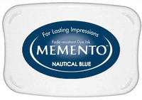 Memento Full Size Ink Pad - Natical Blue