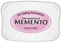 Memento Full Size Ink Pad - Angel Pink