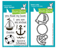 Lawn Fawn Stamps & Dies Bundle - Float My Boat
