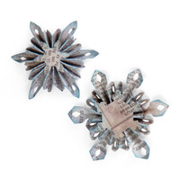 Sizzix Sizzlits Decorative Strip Die - Mini Snowflake Rosettes (2 Sizes) by Tim Holtz