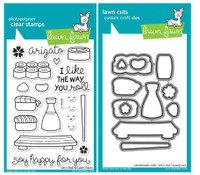 Lawn Fawn Stamps & Dies Bundle - Let's Roll