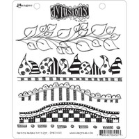 Dyan Reaveley's Dylusions Cling Stamp Collections - Further Around The Edge