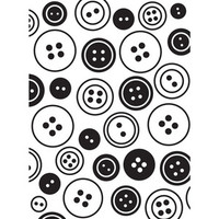 Darice A2 Embossing Folder - Buttons Background