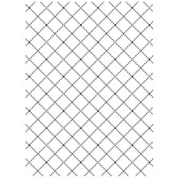 Darice A2 Embossing Folder - Wire Fence