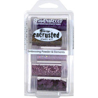Stampendous Frantage Encrusted Jewel Kit - Purples