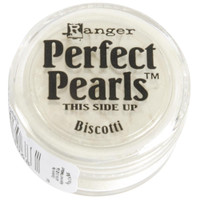 Perfect Pearls Powders by Ranger Ink - Biscotti