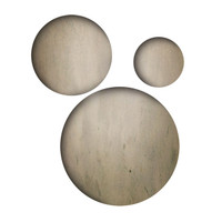 Sizzix Movers & Shapers Magnetic Die Set 3PK - Sized Circles by Tim Holtz