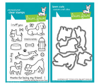 Lawn Fawn Stamps & Dies Bundle - Critters At The Dog Park